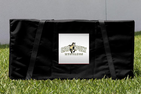 Cal Poly Mustangs Cornhole Storage Carrying Case Victory Tailgate 16526