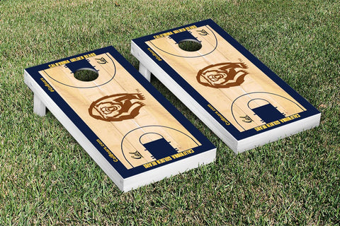 UC Berkeley Golden Bears Cornhole Game Set Basketball Court Version - Victory Tailgate 26675