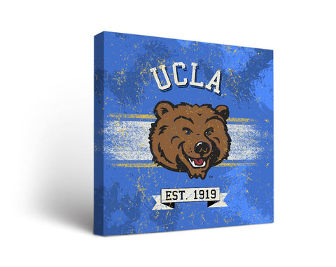 University of California Los Angeles UCLA Bruins Man Cave wall art - Banner Design