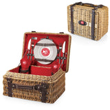 Atlanta Hawks Red Champion Basket by Picnic Time
