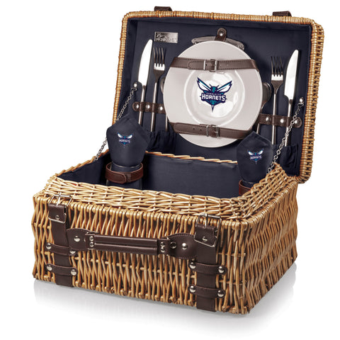 Charlotte Hornets Champion Picnic Basket by Picnic Time