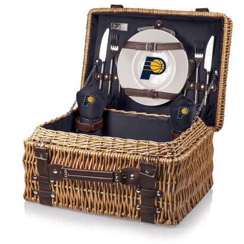 Indiana Pacers Champion Picnic Basket by Picnic Time