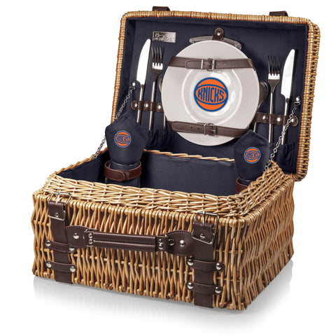 New York Knicks Champion Picnic Basket by Picnic Time