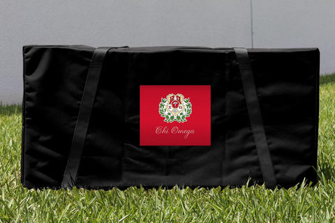 Chi Omega Cornhole Carrying Case Victory Tailgate