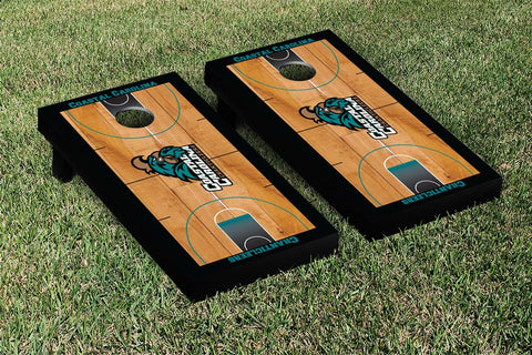 Coastal Carolina CCU Chanticleers Cornhole Game Set Basketball Court Version - Victory Tailgate 23057