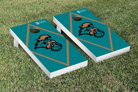 Coastal Carolina CCU Chanticleers Cornhole Game Set Diamond Version - Victory Tailgate 8261