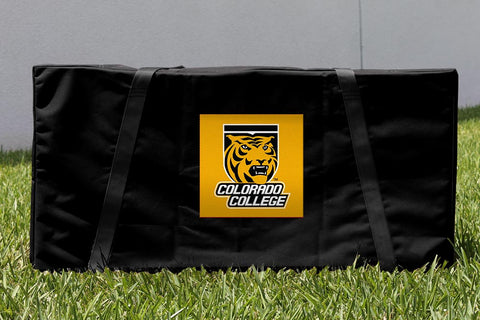 Colorado College Tigers Cornhole Carrying Case Victory Tailgate 29509