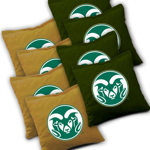 Colorado State Rams Corn Hole Bags from AJJ Cornhole