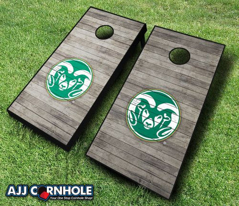 Colorado State Rams Cornhole Set with Team Bags