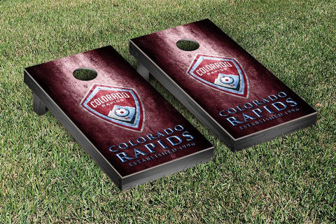 Colorado Rapids Metal Version Cornhole Game Set by Victory Tailgate