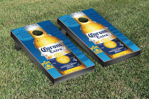 Corona Close Up Version Cornhole Set by Victory Tailgate