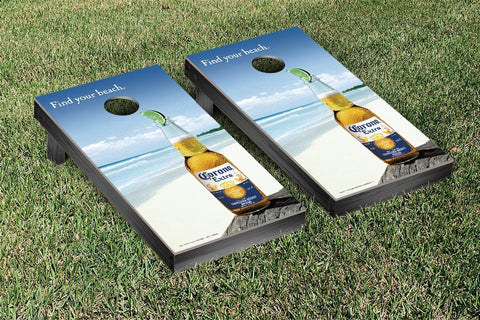 Corona Find Your Beach Version Cornhole Set by Victory Tailgate