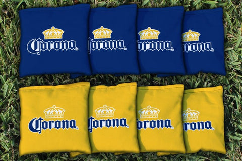 Corona Extra Cornhole Bags, all-weather version