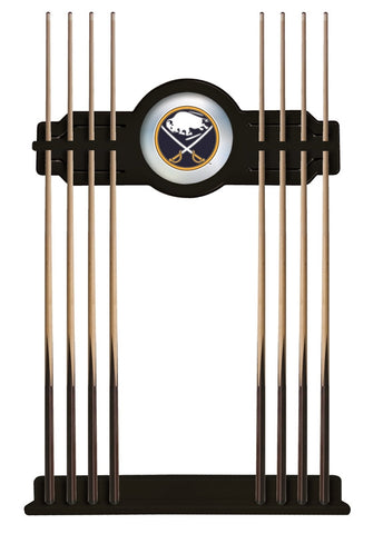 Buffalo Sabres Cue Rack in Black Finish