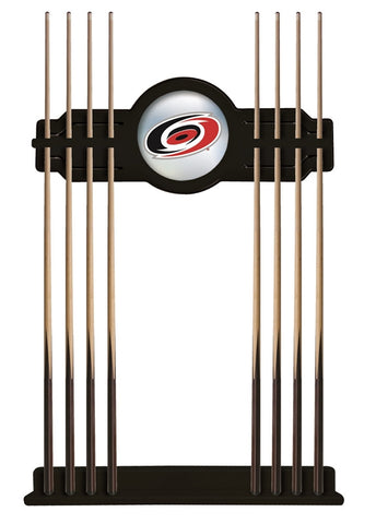Carolina Hurricanes Cue Rack in Black Finish