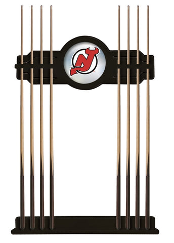 New Jersey Devils Cue Rack in Black Finish