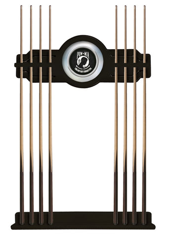 POW/MIA Cue Rack in Black Finish