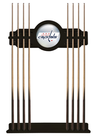 Washington Capitals Cue Rack in Black Finish