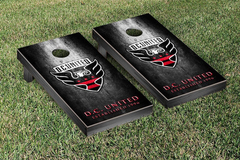 DC United Metal Version Cornhole Game Set by Victory Tailgate