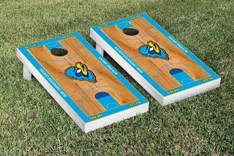 University of Delaware Blue Hens Cornhole Game Set Basketball Court Version - Victory Tailgate 22967