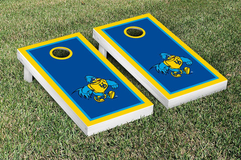 University of Delaware Blue Hens Cornhole Game Set Border Version 1 - Victory Tailgate 15587