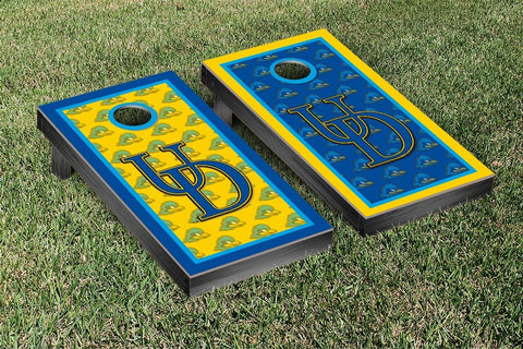 University of Delaware Blue Hens Cornhole Game Set Border Version 2 - Victory Tailgate 33025