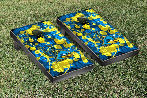 University of Delaware Blue Hens Cornhole Game Set Fight Song Version - Victory Tailgate 58769