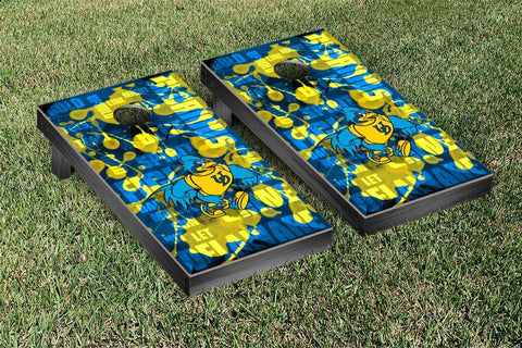 University of Delaware Blue Hens Cornhole Game Set Fight Song Version 2 - Victory Tailgate 58770