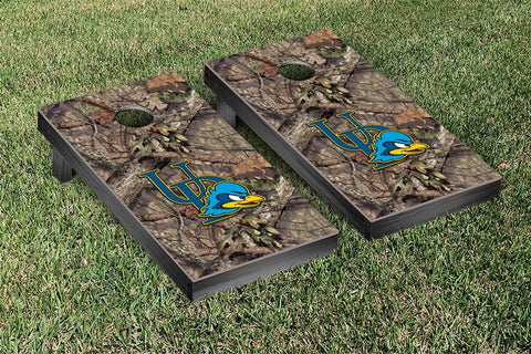 University of Delaware Blue Hens Cornhole Game Set Mossy Oak Version - Victory Tailgate 58771