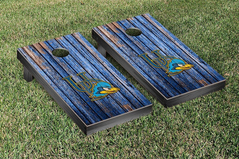 University of Delaware Blue Hens Cornhole Game Weathered Version - Victory Tailgate 58773