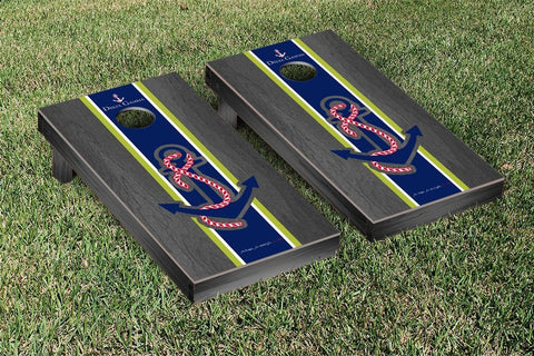 Delta Gamma Onyx Stained Cornhole Set Victory Tailgate 31293