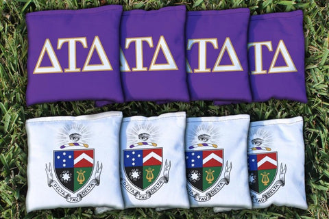 Delta Tau Delta Cornhole All Weather Bags Victory Tailgate 31396