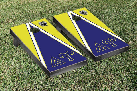 Delta Upsilon Triangle Cornhole Game Set - Victory Tailgate 31303
