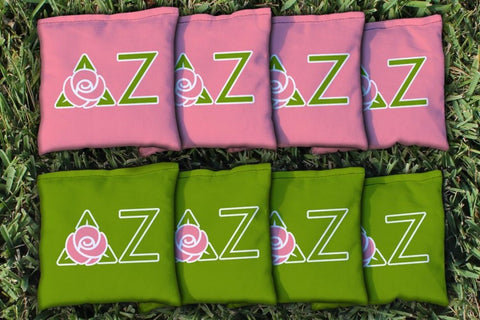 Delta Zeta Replacement Cornhole Bag Set  (corn filled)