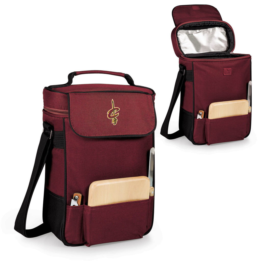 The Cleveland Cavaliers Duet Wine and Cheese Tote by Picnic Time