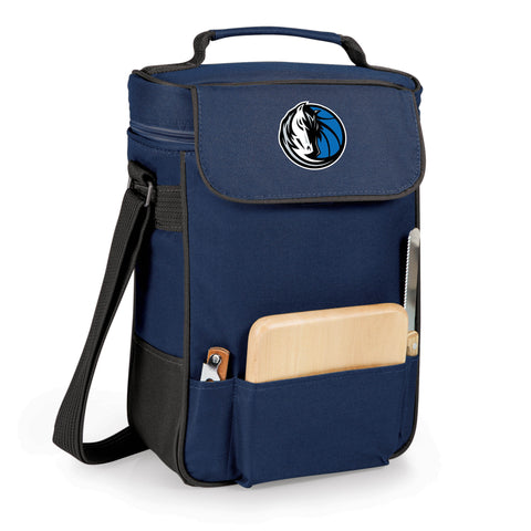 The Dallas Mavericks Duet Wine and Cheese Tote by Picnic Time