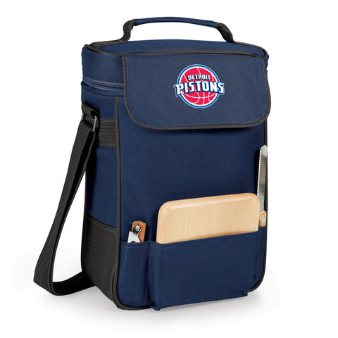 The Detroit Pistons Duet Wine and Cheese Tote by Picnic Time