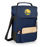 The Golden State Warriors Duet Wine and Cheese Tote by Picnic Time