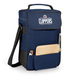 The Los Angeles Clippers Duet Wine and Cheese Tote by Picnic Time
