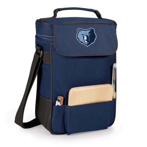 The Memphis Grizzlies Duet Wine and Cheese Tote by Picnic Time