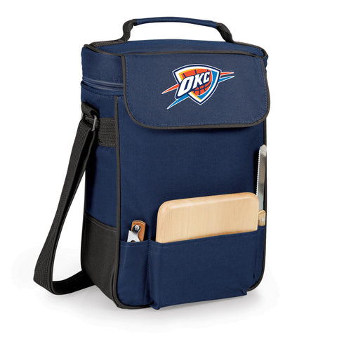 The Oklahoma City Thunder Duet Wine and Cheese Tote by Picnic Time