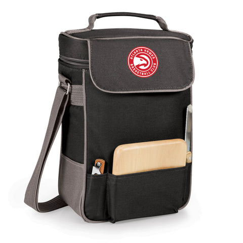 The Atlanta Hawks Duet Wine and Cheese Tote by Picnic Time