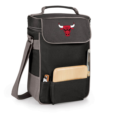 The Chicago Bulls Duet Wine and Cheese Tote by Picnic Time