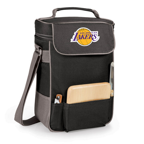 The Los Angeles Lakers Duet Wine and Cheese Tote by Picnic Time
