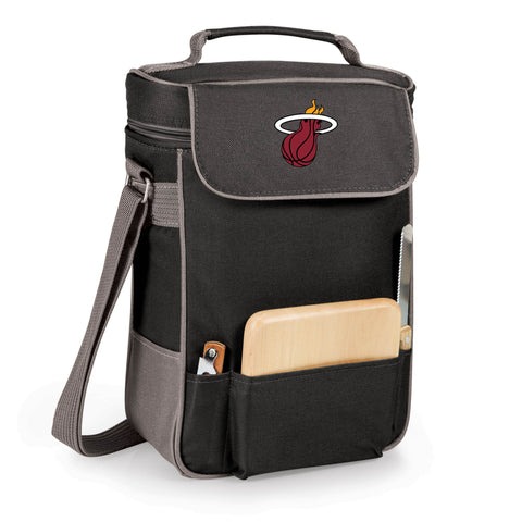 The Miami Heat Duet Wine and Cheese Tote by Picnic Time