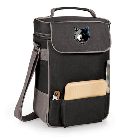 The Minnesota Timberwolves Duet Wine and Cheese Tote by Picnic Time