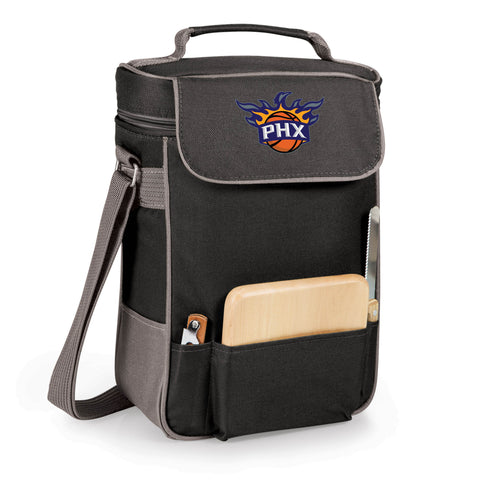 The Phoenix Suns Duet Wine and Cheese Tote by Picnic Time