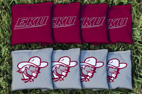 Eastern Kentucky Colonels Cornhole All Weather Bags Victory Tailgate 8842