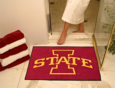 The ISU Cyclones All Star Mat - Fan Mats 10