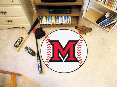 The Miami Redhawks Baseball Mat - Fan Mats 94